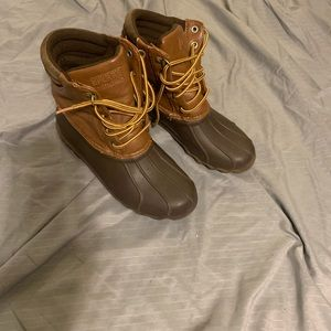Sperry Duck Boots size Youth 5